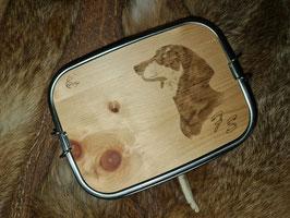 Lunchbox mit Zirbenbrett