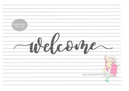 welcome {plottervorlage}