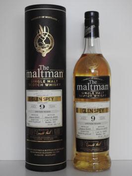 Glen Spey 9 Jahre, The Maltman, 0,7l, 55,4%