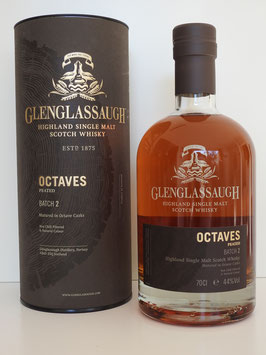 Glenglassaugh Octaves Peated Batch 2  0,7l, 44,0%