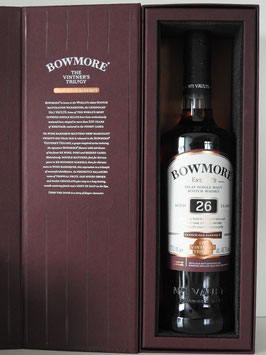Bowmore 26 Years Old Wine Barrique Cask 0,7l, 48,7l