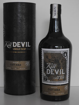 Kill Devil, Guyana Uitvlugt Rum, 1999, Hunter Laing 17 J., 46 %