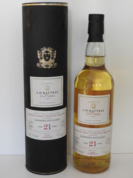 Ardmore 21 Jahre, A.D.Rattray, 0,7l, 51,7%