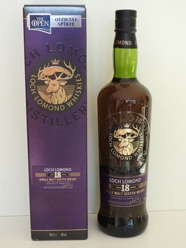 "Loch Lomond 18 Jahre ""The Open"" 0,7l, 46,0%"