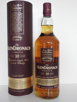 GlenDronach 10 Forgue Highland Single Malt Whisky 1,0l, 43,0%