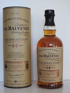 Balvenie 14 Jahre Caribbean Cask, 0,7l, 43,0%