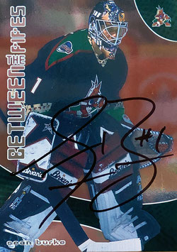 Sean Burke Trading Card signed in Person