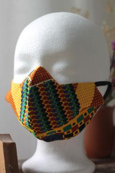 Mundbedeckung/Behelfsmaske geometrisches Muster (klein)