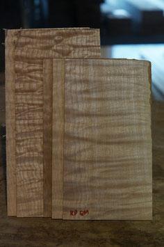 Kopfplatten Quiltet Maple