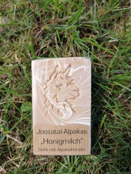 Alpakakeratin-Seife