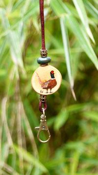 """Pfeifenband  Holz """" pheasant"""""""