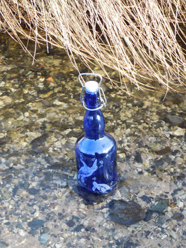 Bügelflasche 0,75 ltr. mit Schildkröten