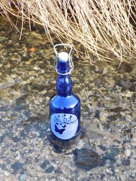 Bügelflasche 0,75 ltr. mit Schmetterlinge