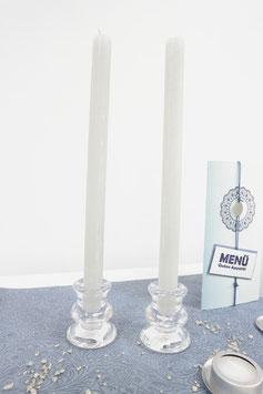 Stabkerzen und Kerzenhalter