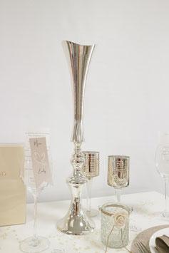 Vase 55cm aus  Metall