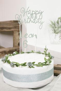 Personalisierter Cake-Topper