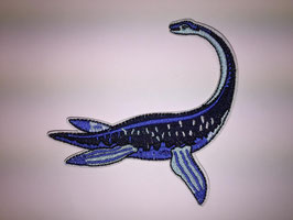 Blauwe Elasmosaurus dinosaurus applicatie