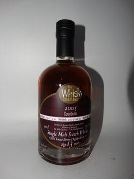 Speyburn (TWC) 2005, 13 Jahre, 56,9%vol, refill Oloroso Sherry Hbd - SPEYSIDE - 0,5l Flasche