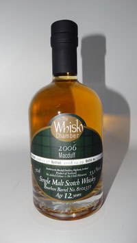MacDuff (TWC) 2006, 12cJahre, 53,1%vol, Bourbon Cask - HIGHLANDS - 0,5l Flasche