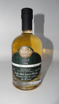 Ledaig (TWC) 2008, 10Jahre, 59,0%vol,refill Bourbon cask - ISLANDS - 0,5l Flasche