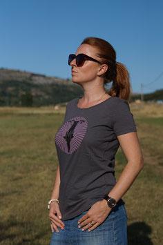 Tee-shirt femme Shiny