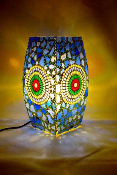 Mosaiktischlampe 1