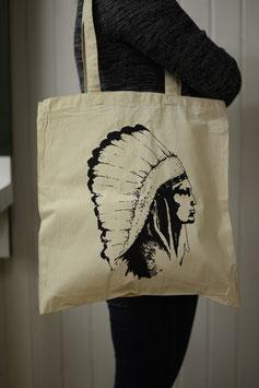 Stofftasche Indianer