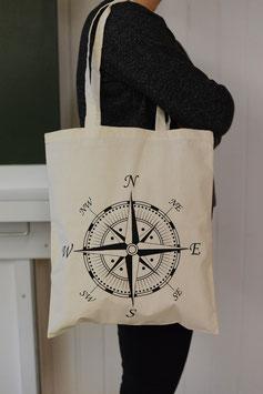 Stofftasche Kompass