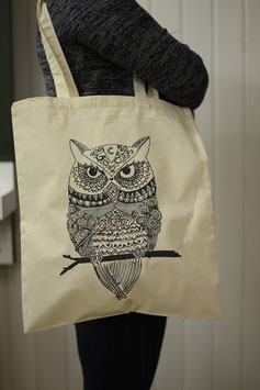 Stofftasche Eule