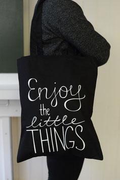 Stofftasche Enjoy schwarz