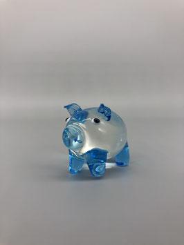 blue piglet