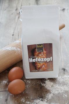 Hefezopf - Backmischung 1 kg.- aus der Elzacher Mühle im Schwarzwald