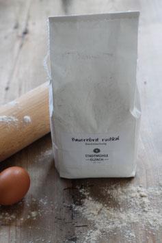 Bauernbrot rustikal Backmischung 1 kg.- Elzacher Mühle Schwarzwald - für 2 Brote