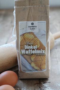 Dinkel Waffelmix Backmischung (500g) lecker und luftig, Stadtmühle Elzach