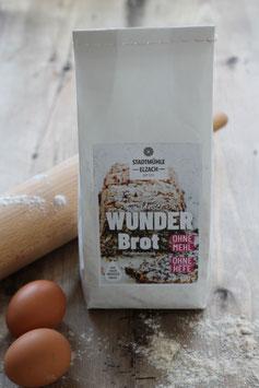 """""""Wunderbrot"""" - Backmischung 0,6 kg.- aus der Elzacher Mühle - ohne Mehl und Hefe"""