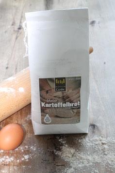 Kartoffelbrot Backmischung 1 kg.- Elzacher Mühle Schwarzwald - ergibt 2 Brote