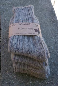 Alpaka Socken - dick Gr. 43-46