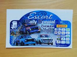 Autocollant Escort Rally Special 2019