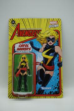 "Hasbro Marvel Legends 3,75-Zoll ""Retro Carol Danvers"" Welle 1 Kenner"