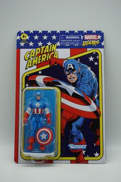 """Hasbro Marvel Legends 3,75-Zoll """"Retro Captain America"""" Welle 1 Kenner"""