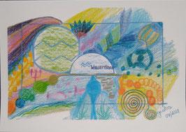 """Karte """"Wassermann"""""""