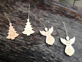Zirben Weihnachtsbaum oder Engerl