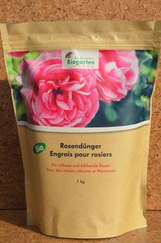 Biodünger für Rosen