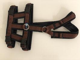annyx Safety Geschirr schwarz/ braun