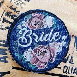 Patch Bride donker roze
