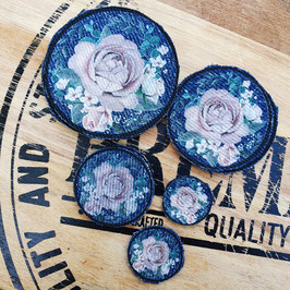 Patch blush roses