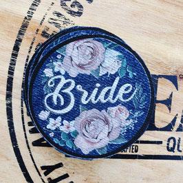 Patch Bride roze rozen