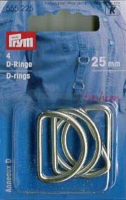 D-Ringe Prym, silbrig
