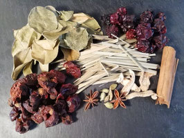 Mélange Fruité-Epicé pour rhum arrangé en sachet de 80g