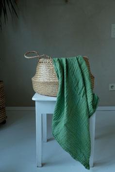 Organic Cotton Swaddle - Moss